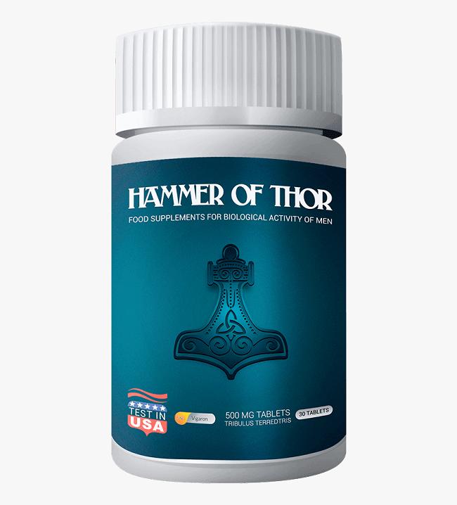 อาหารเสริม Hammer of Thor — เรียนรู้เพิ่มเติมเกี่ยวกับวิธีที่จะช่วยคุณให้มีประสิทธิภาพ
